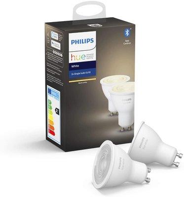 Philips Hue GU10 Duopack - wit