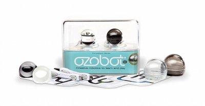 Ozobot 2.0 Bit Dual Pack (Crystal White & Titanium Black)