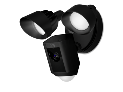 Ring Floodlight Cam zwart