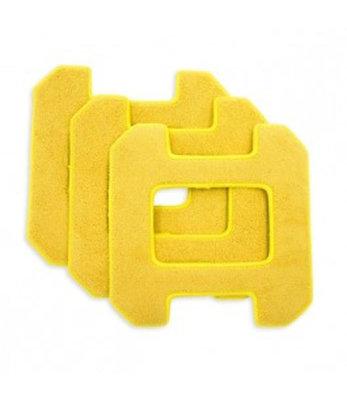 HOBOT 268 / 288 / 298 yellow microfiber pads
