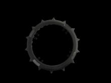 RoboHome RoboGrips voor brede wielen voor Wolf-Garten Loopo M en Robomow RC/MC robotmaaiers