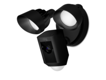 RoboHome Ring Floodlight Cam zwart